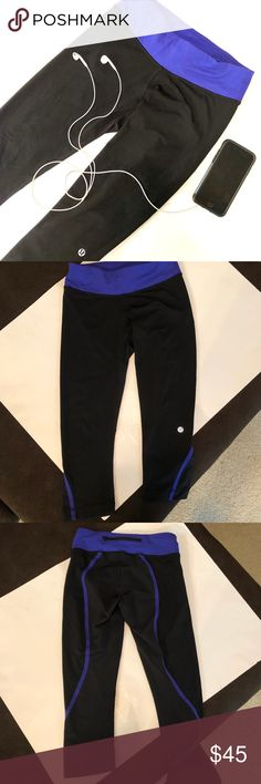 1572ae2aaa Lululemon joggers Lululemon Joggers in EUC, size 4. They come down to the  calf