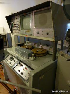 AMPEX VR-1000 video tape recorder (1958) @ Berlin, Germany