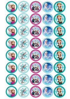 Imprimibles Candy bar de cumpleaños Frozen | Decorar en familia | DEF Deco