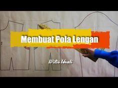 MEMBUAT POLA LENGAN - YouTube