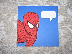 Spidey party invitation