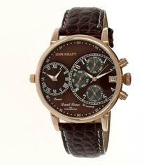 Uhr-Kraft Dualtimer Watch - lifestylerstore - http://www.lifestylerstore.com/uhr-kraft-dualtimer-watch/