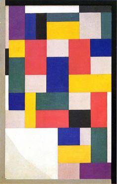 Theo van Doesburg, Peinture pure, 1920