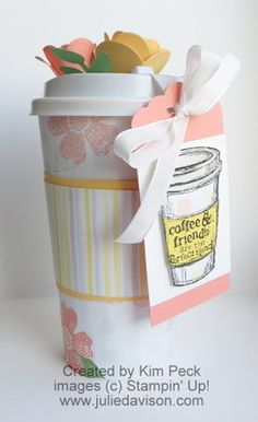 Stampin' Up! Treat Holder: Julie's Stamping Spot  - Perfect Blend