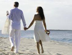 Bride and groom enjoying our beautiful Bahamas.
