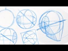 How to Draw Human Head - Exercises   Tutorial 2/4 - YouTube