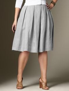 Plus size skirt $110... bet I could make this pretty easily... Hmmm...
