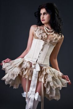 Wedding+Bustle+Skirt+Burlesque+Bridal+by+lovechildboudoir+on+Etsy,+$75.00