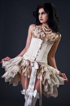 Wedding+Bustle+Skirt+Burlesque+Bridal+by+lovechildboudoir+on+Etsy,+$75.00