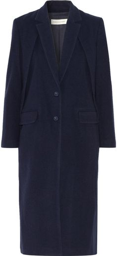 Rebecca Minkoff Kennedy deconstructed wool-blend coat