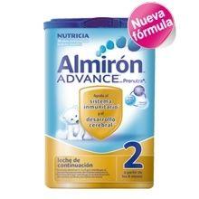 Almiron Advance 2 800 G.   La más reciente innovación de Almirón, ayuda al sistema inmunitario y al desarrollo cerebral. Contiene Pronutra+, una combinación de Prebióticos patentados.   No deje de visitar nuestra web, y ver todos los productos de almirón al precio más bajo. www.farmatendencias.com ¡TU FARMACIA ONLINE!