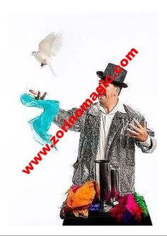 "Invite The Great Zorino to make your Child""s Birthday Party a party to remember! The Great Zorino performs an exciting and interactive magic and ventriloquist show Childrens Party, Invitations, Invite, The Magicians, Birthday Parties, Dj, Entertainment, Make It Yourself, Anniversary Parties"