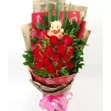 Red Roses, Roses Bouquets, Always With You V