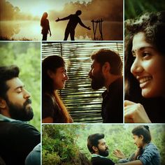 """To all the #Premam #lovers out there, here is a #collage of #Malar #nivin…"