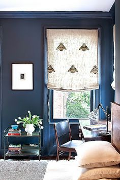 LOVE THIS LITTLE BLUE ROOM!