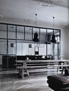 Discover more of the best Deco, Lotta, Agaton, Contrasts, and Interior inspiration on Designspiration Interior Desing, Interior Inspiration, Interior Architecture, Interior And Exterior, Deco Design, Küchen Design, House Design, Design Ideas, Apartment Kitchen