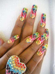 Summer Time - Nail Art Gallery nailartgallery.nailsmag.com by nailsmag.com