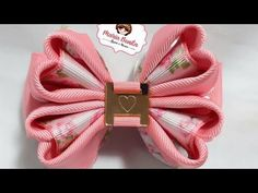 Ribbon Art, Ribbon Crafts, Fabric Bows, Fabric Flowers, Fun Diy Crafts, Ponytail Holders, Kids And Parenting, Hair Bows, Hair Clips