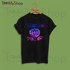 Fleetwood Mac Shirt Fleetwood Mac Tshirt Fleetwood by TeeMyShop - Amazing Shirt!