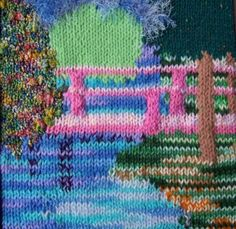 knitted landscape
