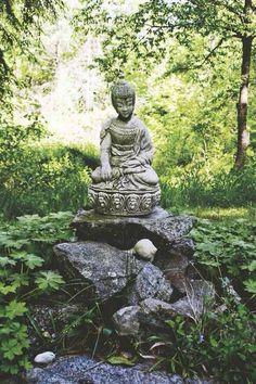 I need a garden Buddha probably