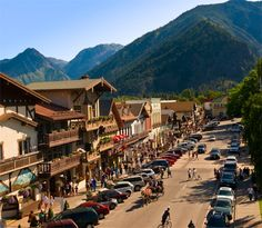 Leavenworth, WA - My husband and I went here as part of our honeymoon trip in 2009.  Great litte town.