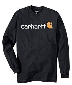 My Carhartt Logo Long Sleeve T-Shirt