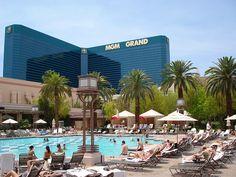MGM Grand pool area