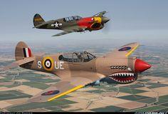Curtiss Kittyhawk Mk1A aircraft picture