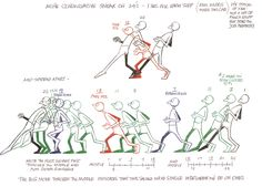 Great sneak poses by Richard Williams.  Shared by www.AnimationMethods.com