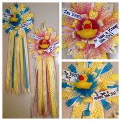 ...  Rubber ducky baby shower, Ducky baby showers and Diaper cakes