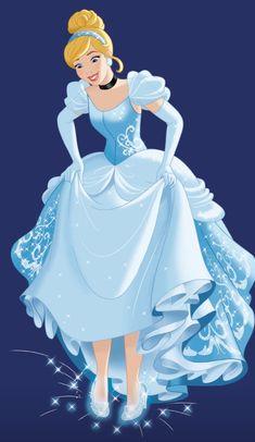 Cinderella And Prince Charming, Disney Princess Cinderella, Disney Princesses, Disney Fun, Disney Drawings, Princesas Disney, Fantasy World, Disney Characters, Drawing Ideas