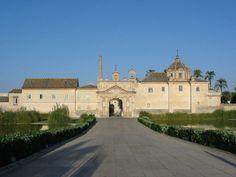 Fachada principal Monasterio de la Cartuja, Sevilla. #Sevilla #Seville #sevillaytu @Sevilla&Tú