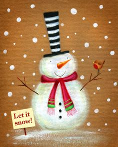 Ileana Oakley - snowman robin snow.jpg