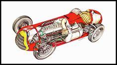 F1 - 1950 - Alfa Romeo 158-50 - Illustrated by Sergio B