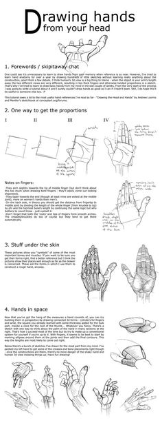 Drawing-hands-from-your-head