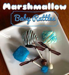Marshmallow Baby Rattles