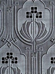 Art Deco wallpaper - Chameleon Collection-- this would make a beautiful linen cutwork tablecloth, too! Art Deco Wallpaper, Grey Wallpaper, Feature Wallpaper, Wallpaper Designs, Designer Wallpaper, Floor Patterns, Tile Patterns, Art Nouveau, La Art