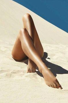 Lekker in het warme zand