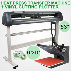 "#15""x15"" heat press #transfer 53""vinyl #cutting plotter machine digital printing,  View more on the LINK: http://www.zeppy.io/product/gb/2/331946411229/"