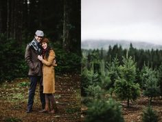 Winter engagement session from Taylor Jones Photo. Best Christmas Tree Decorations, Christmas Tree Farm, Lifestyle Photography, Wedding Photography, Winter Engagement Pictures, Christmas Engagement, Engagement Session, Engagements, Lake Tahoe Weddings