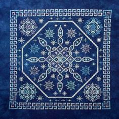 Celtic Snow Chart by Northern Expressions by NorthernExpressions