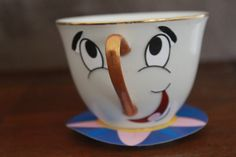 Bring the character's of Beauty and the Beast to your birthday party with this easy printable and directions on how to make Chip the Teacup.    Included is the 300 dpi printable to make Chip's face and bottom rim. All you need to do is find a teacup and dress him up using the easy, pictorial directions.