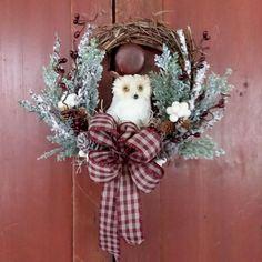 Xmas Decorations, Grapevine Wreath, Grape Vines, Christmas Wreaths, Holiday Decor, Home Decor, Decoration Home, Room Decor, Vineyard Vines