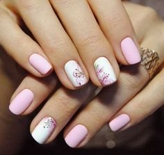 Having short nails is extremely practical. The problem is so many nail art and manicure designs that you'll find online Fabulous Nails, Perfect Nails, Trendy Nails, Cute Nails, Hair And Nails, My Nails, Nagellack Design, Short Nails Art, Manicure E Pedicure