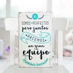 Vintage Frases, Family Wall Decor, Cute Images, Family Love, Home Deco, Ideas Para, Living Room Designs, Decoupage, Place Card Holders