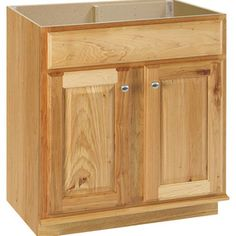 Style Selections Cotton Creek Natural Traditional Bathroom Vanity (Common: 30-in x 22-in; Actual: 30-in x 21-in)