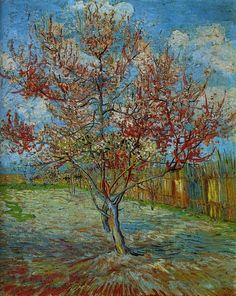 Pink Peach Tree - Vincent van Gogh  1888