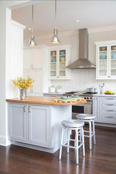 Small Kitchen Ideas. Great Small Kitchen Design Ideas. #SmallKitchen #smallSpaces #Kitchen