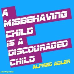 A misbehaving child is a discouraged child. - Alfred Adler (Let's Support Encouragement > Humiliation) Alfred Adler, Public Shaming, Positive Discipline, Counselling, Bullying, Back To School, Psychology, Personality, Encouragement